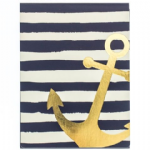 Navy Anchor Pocket Notes